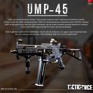 tactic force ump45