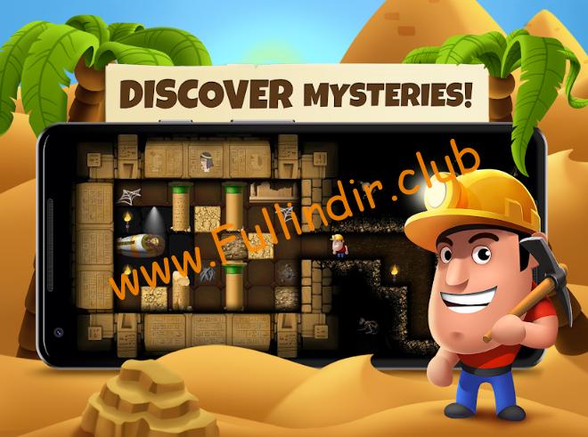 Diggy's Adventure: Madencilik ve Labirentten Kaçış full hileli apk indir