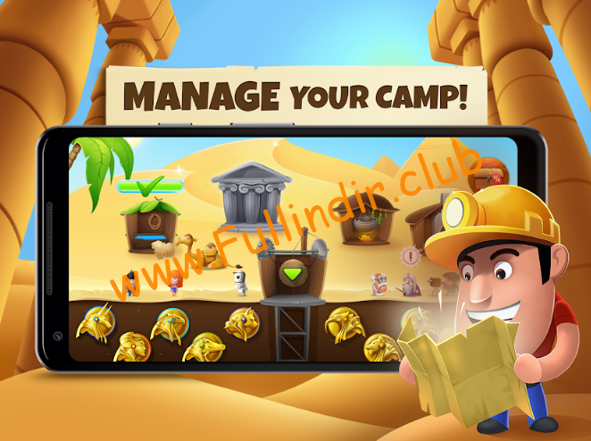 Diggy's Adventure: Madencilik ve Labirentten Kaçış full hileli apk