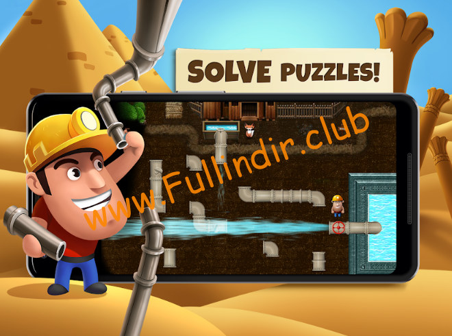 Diggy's Adventure: Madencilik ve Labirentten Kaçış full