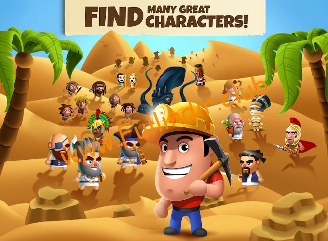 Diggy's Adventure: Madencilik ve Labirentten Kaçış full hileli