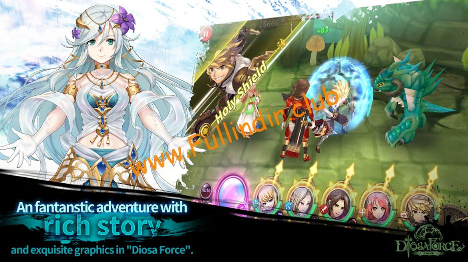 diosa force ii elemental order full hileli