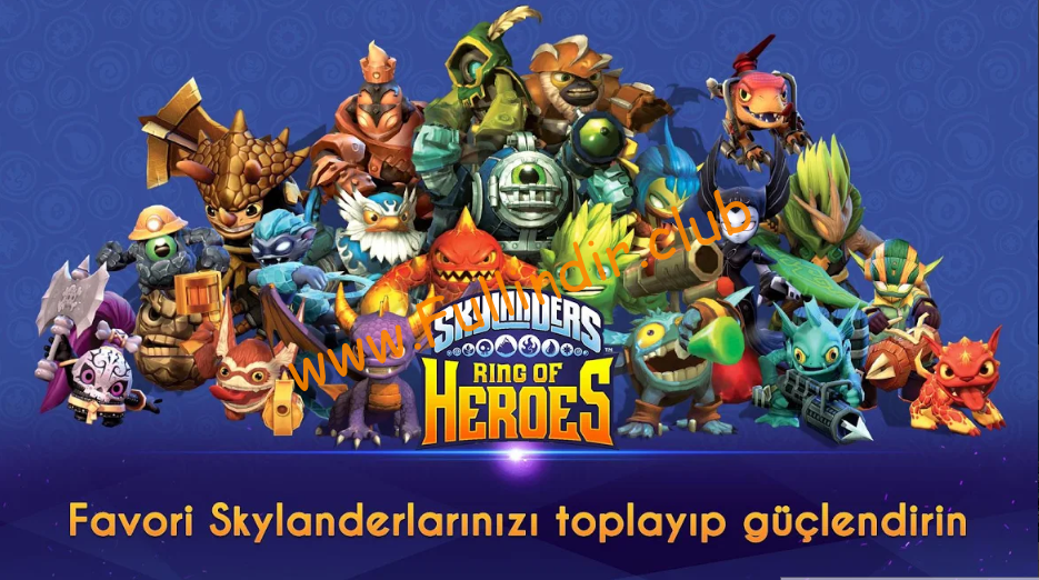 skylanders ring of heroes full