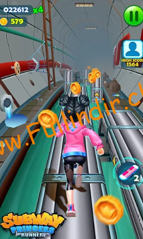 Subway Princess Runner full hileli apk indir