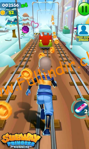 Subway Princess Runner full hileli apk