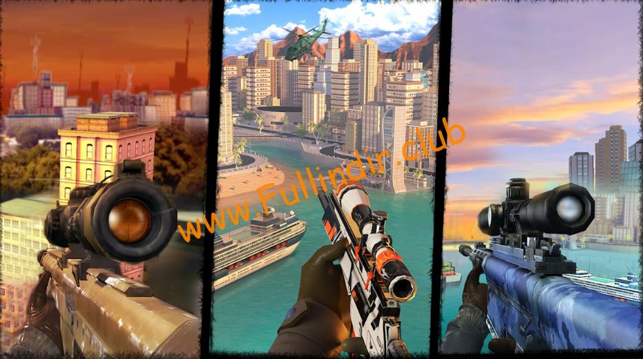 aim and shoot sniper full hileli apk
