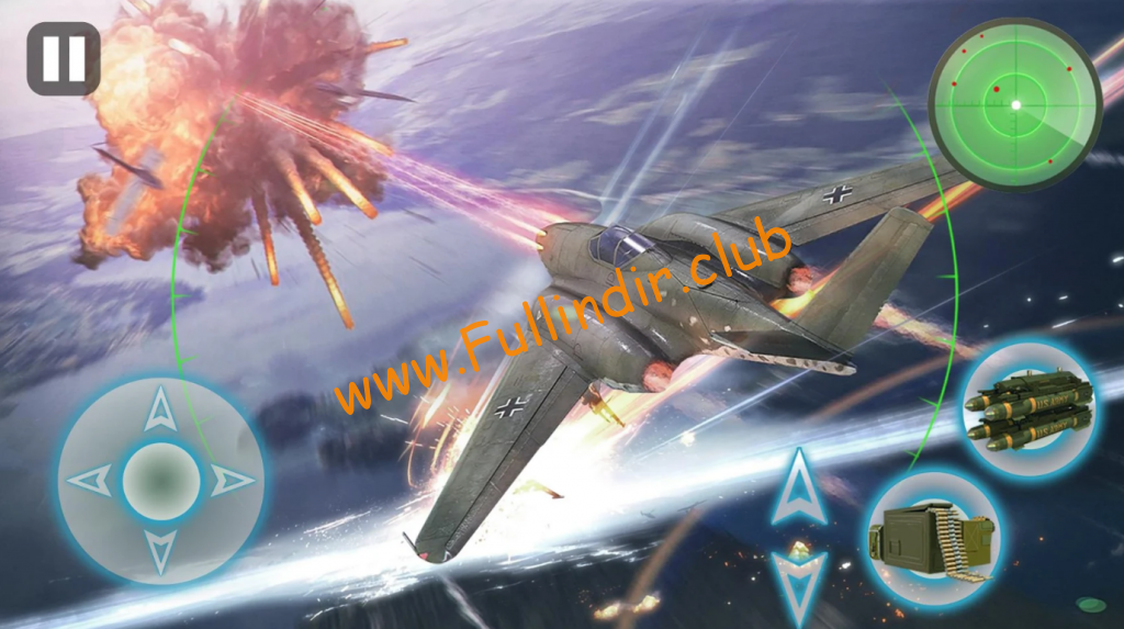 air combat 3d thunder war apk indir