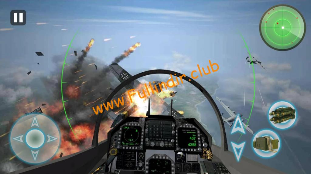 air combat 3d thunder war indir