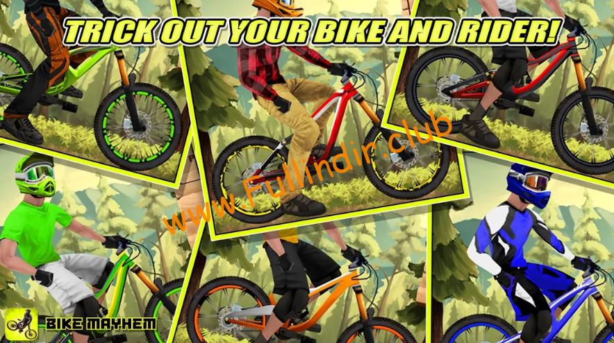 Bike Mayhem Mountain Racing full hileli apk indir