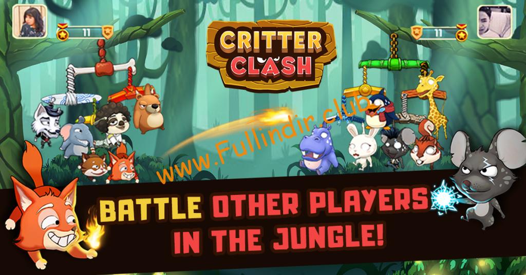 Critter Clash hileli apk
