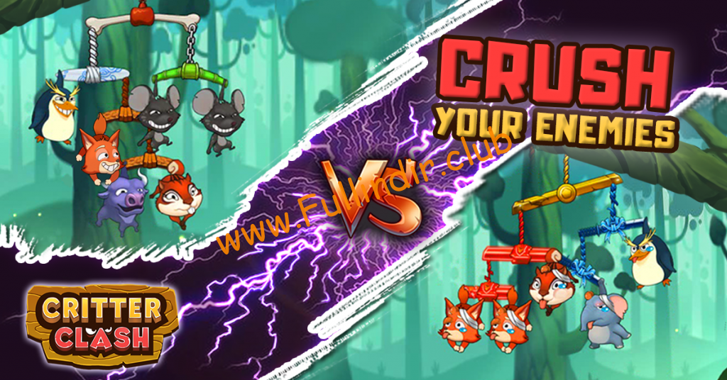 Critter Clash hileli apk indir