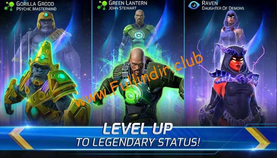 dc legends battle for justice full hileli apk indir