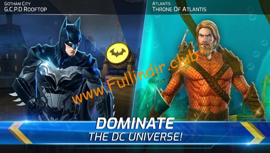 dc legends battle for justice full hileli apk