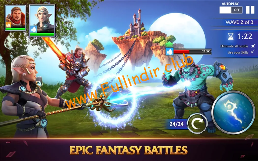 forged fantasy full hileli apk indir