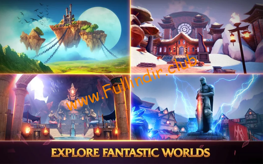 forged fantasy full hileli apk