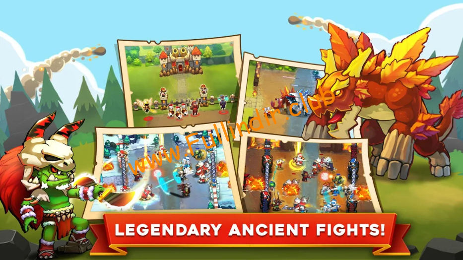 king rivals war clash full hileli apk indir