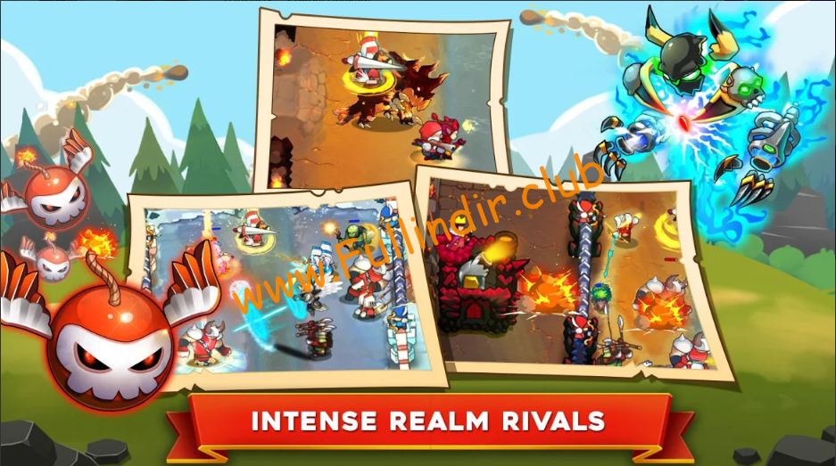 king rivals war clash full hileli apk