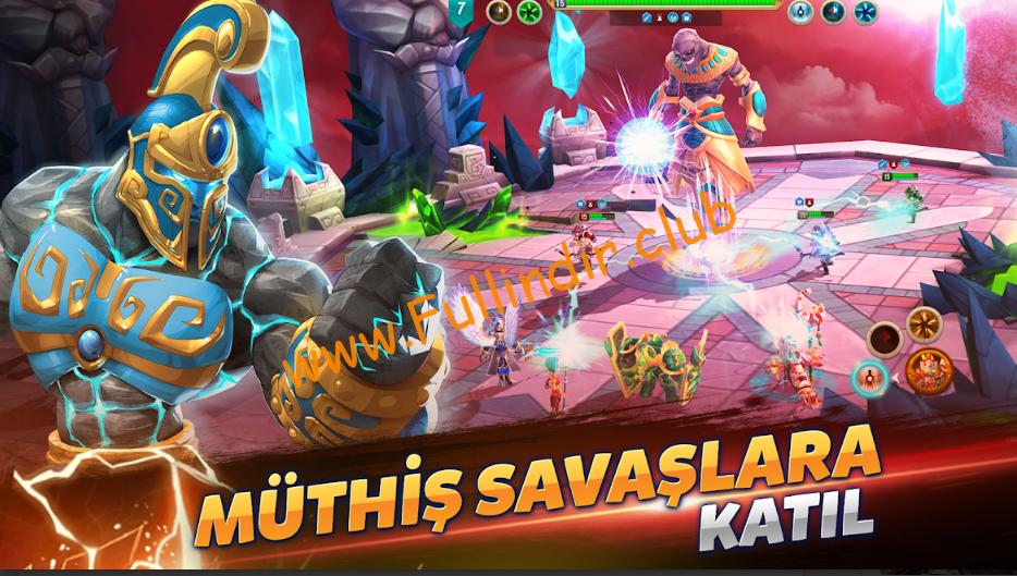 might magic elemental guardians full hileli apk indir