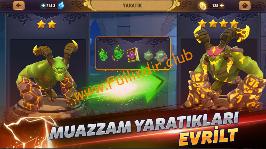 might magic elemental guardians full hileli apk