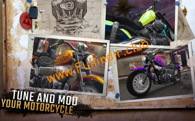 Moto Rider GO: Highway Traffic full hileli apk