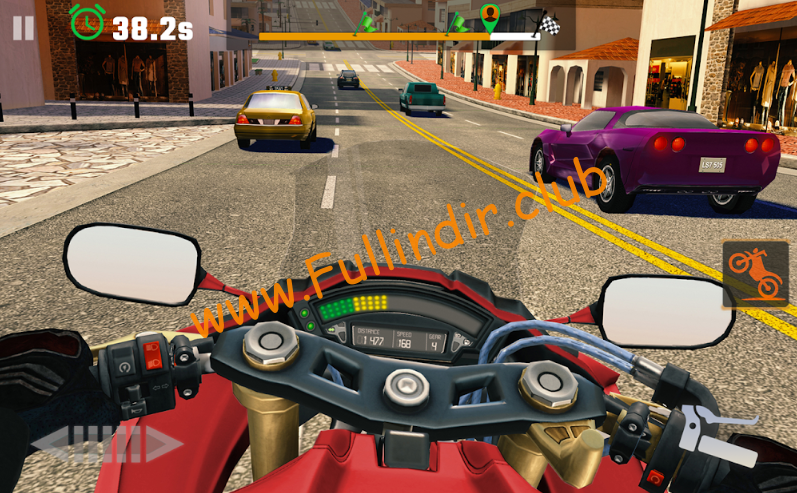 Moto Rider GO: Highway Traffic full hileli