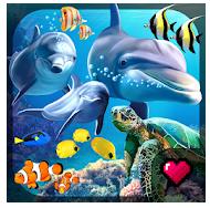ocean reef life 3d aquarium full hileli apk indir