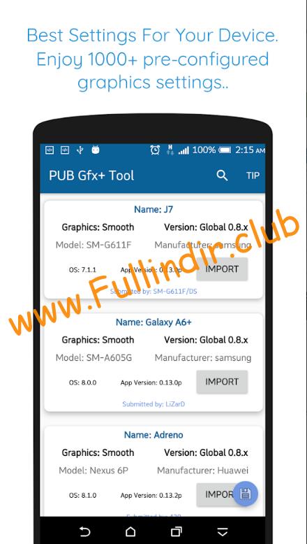 pub gfX tool 🔧 1 gfx tool hileli apk indir