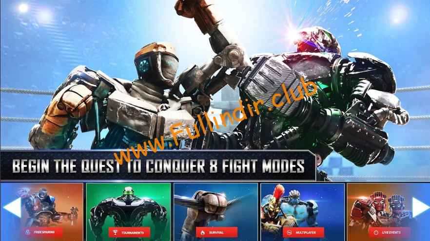 Real Steel full hileli apk