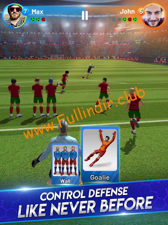Ronaldo Soccer Clash apk hileli