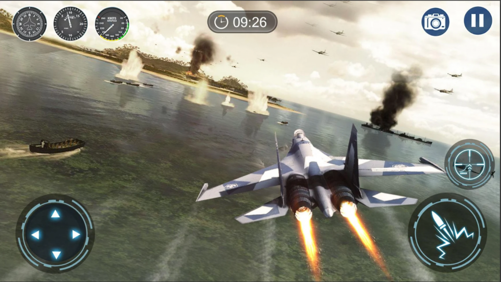 skyward war mobile thunder aircraft battle games hileli apk indir