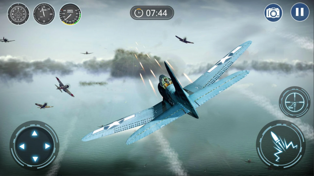 skyward war mobile thunder aircraft battle games indir