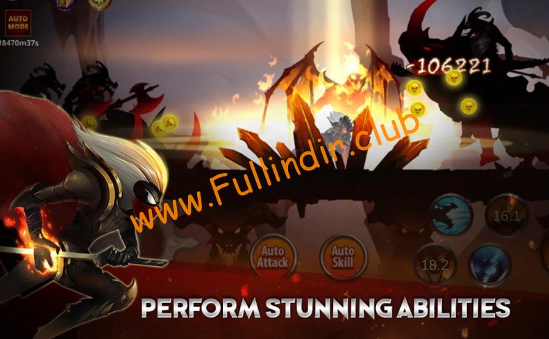 Stickman Legends: Shadow War Offline Fighting Game full hileli apk indir