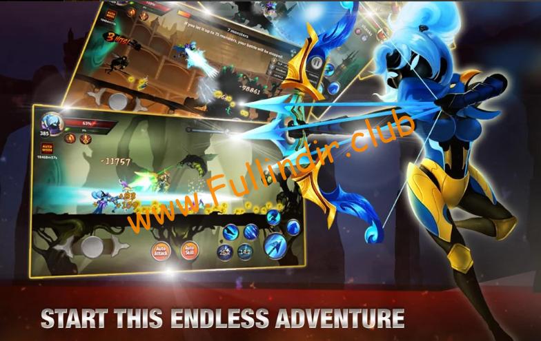 Stickman Legends: Shadow War Offline Fighting Game full