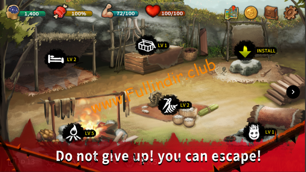 survival escape island apk indir