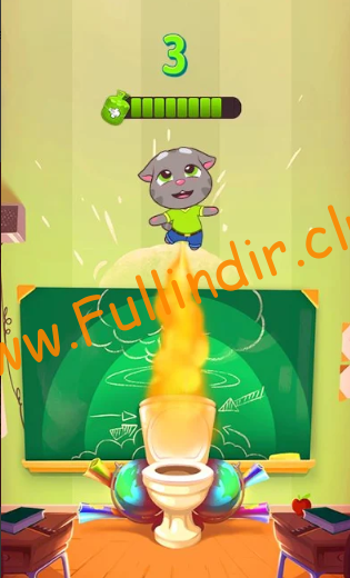 talking tom farts full hileli apk
