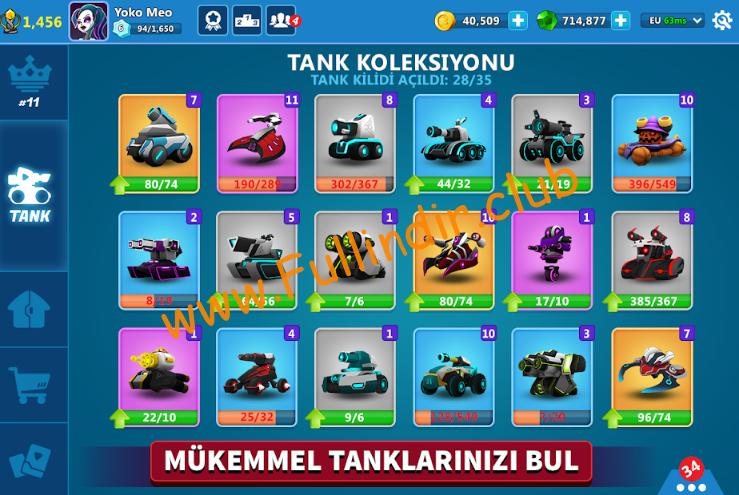 Tank Raid Online Premium full hileli apk indir