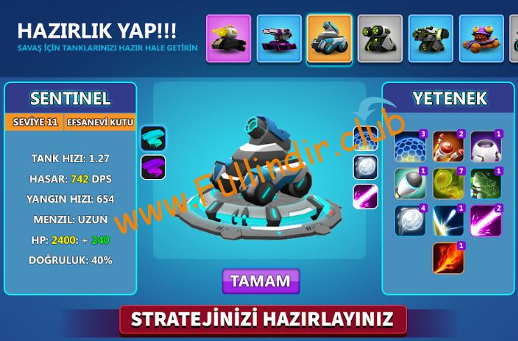 Tank Raid Online Premium full hileli