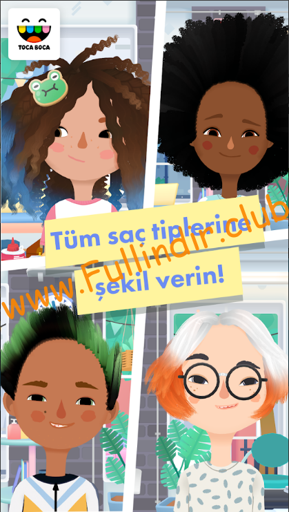 toca hair salon 3 apk indir