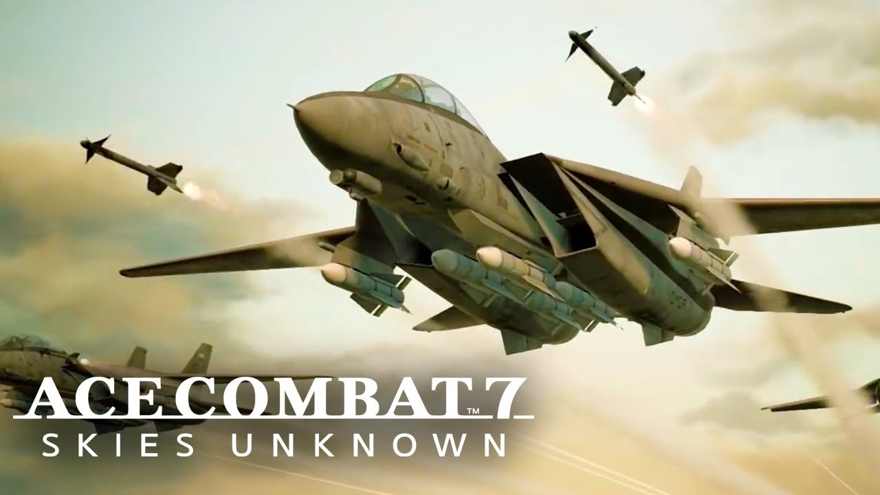 ace combat 7 skies unknown pc indir
