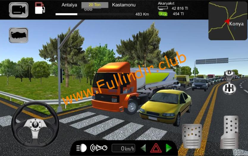 cargo simulator 2019 turkiye full hileli apk