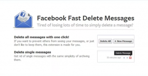 Facebook Fast Delete Messages ücretsiz indir