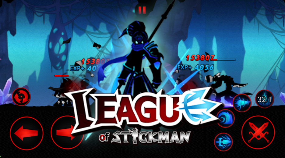league of stickman 2019 full hileli