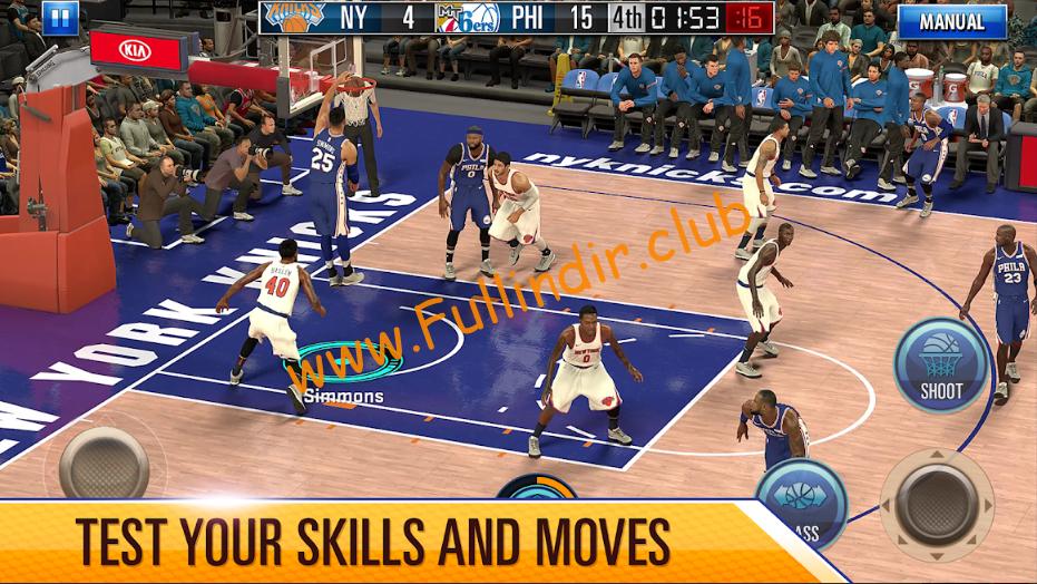 nba 2k mobile basketball full hileli apk indir