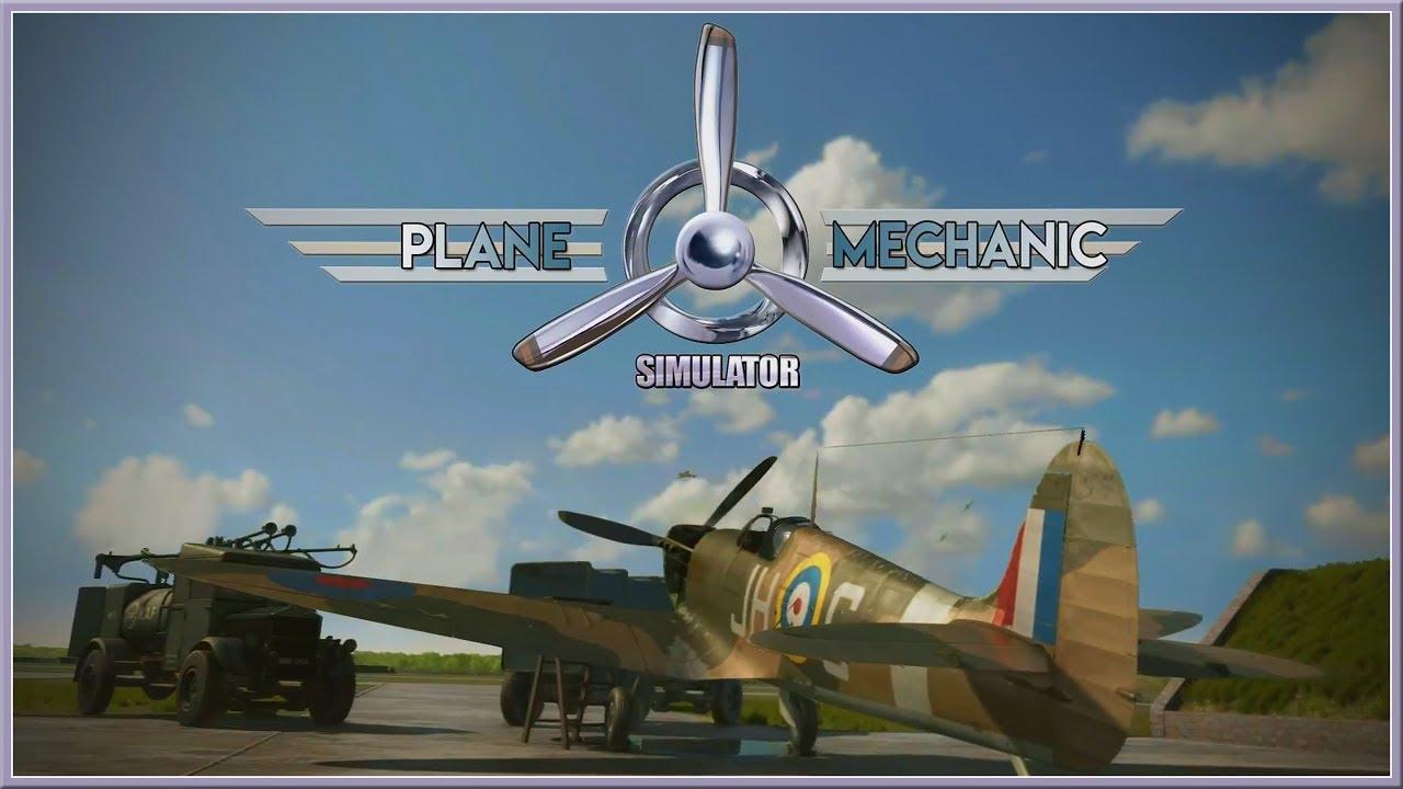 Plane Mechanic Simulator pc indir