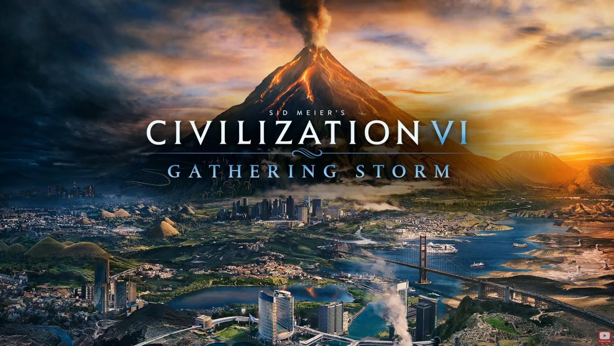 sid meier's civilization vi: gathering storm pc indir