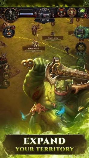 warhammer kaos ve fetih full hileli apk