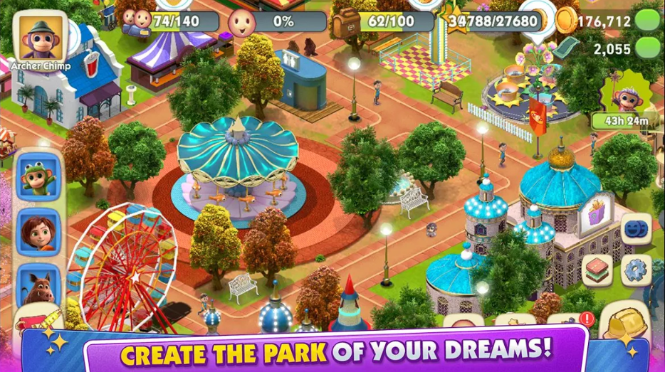 wonder park magic rides full hileli
