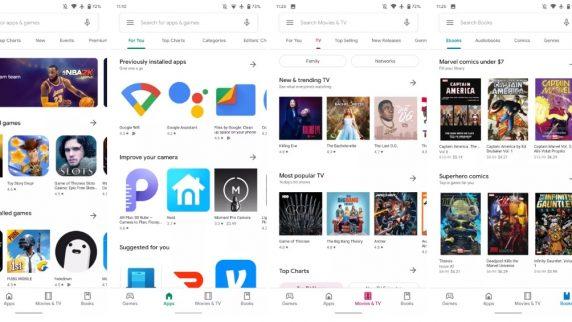 Google Play Store Material Teması APK indir