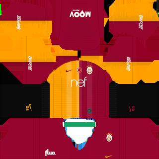 Yeni Sezon Galatasaray 2019 - 2020 Dream League Soccer Forma Kits