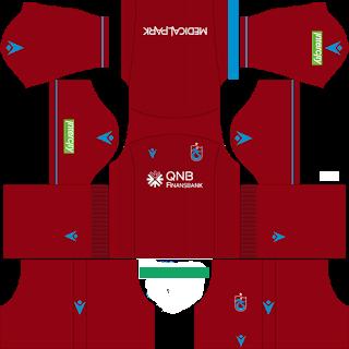 Trabzonspor 2019 - 2020 DLS Forma Kits Deplasman